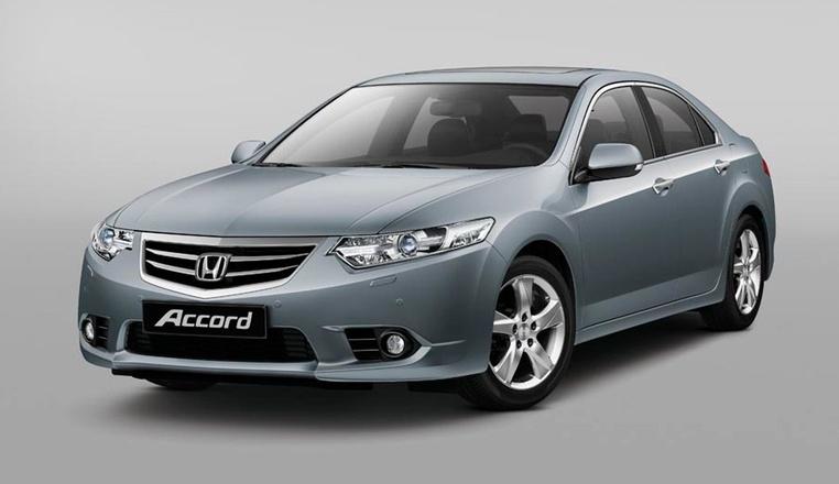 Honda Accord VIII restyle 2011 - 2013 Sedan